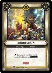 Abjuration (Unclaimed) - Foil