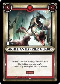 Akhelian Barrier Guard (Unclaimed) - Foil