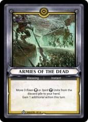Armies of the Dead (Unclaimed) - Foil