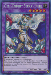 Gem-Knight Seraphinite - SHVA-EN048 - Secret Rare - 1st Edition