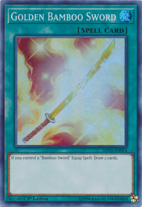 Golden Bamboo Sword - SHVA-EN054 - Super Rare - 1st Edition