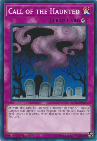 Call of the Haunted - SDPL-EN037 - Common - 1st Edition