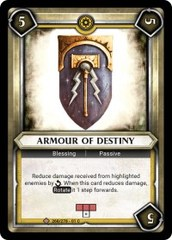 Armour of Destiny (Unclaimed)