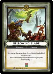Bellowing Blade (Unclaimed)