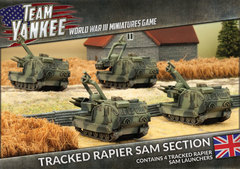 Tracked Rapier SAM Section - Battlefront - TBBX07