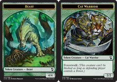 Beast Token // Cat Warrior Token
