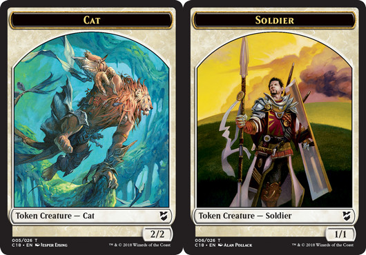 Cat Token // Soldier Token