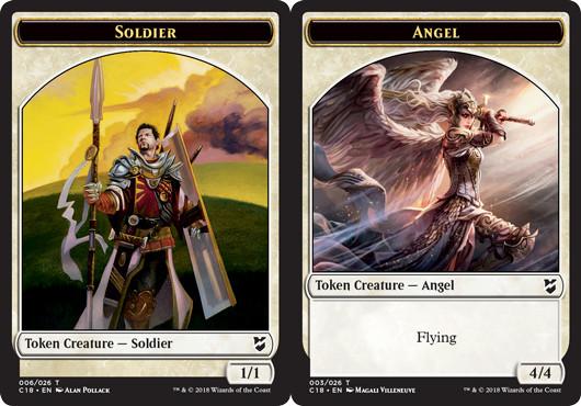 Soldier Token // Angel Token