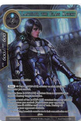 Lancelot, the Glass Knight - NDR-048 - SR - Full Art