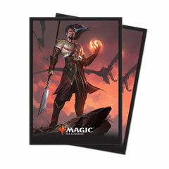 Core Set 2019 - Sarkhan, Fireblood Deck Protector Sleeves