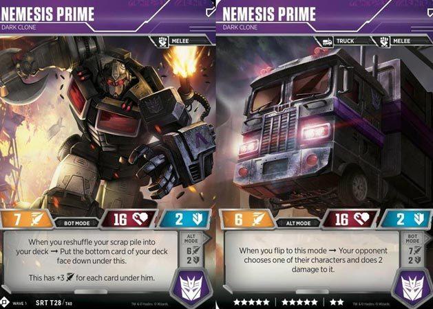 Nemesis Prime // Dark Clone
