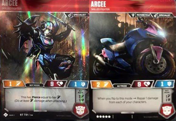 Arcee // Skilled Fighter