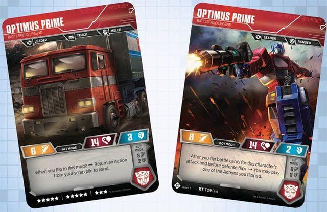 Optimus Prime // Battlefield Legend
