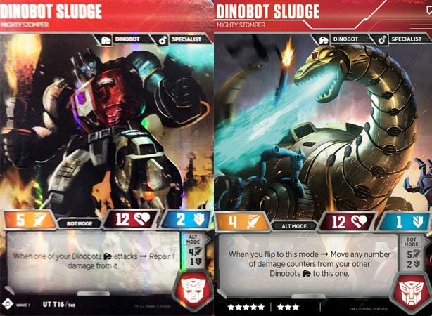 Dinobot Sludge // Mighty Stomper