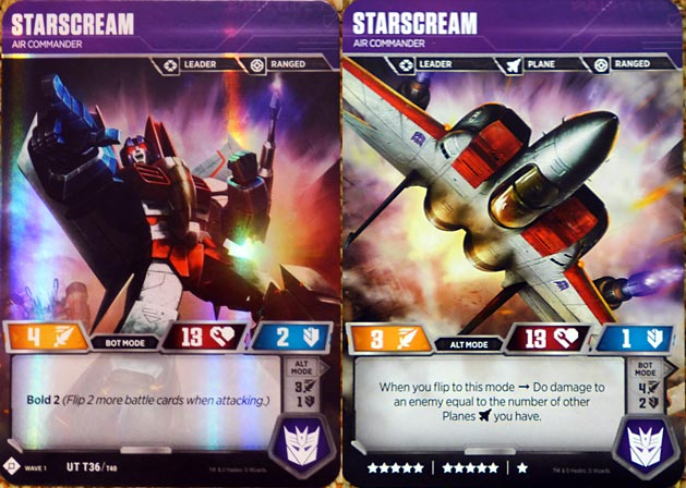 Starscream // Air Commander