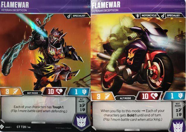Flamewar // Veteran Decepticon