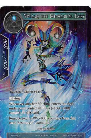 Viviane, The Mechanical Fairy - NDR-060 - U - Full Art