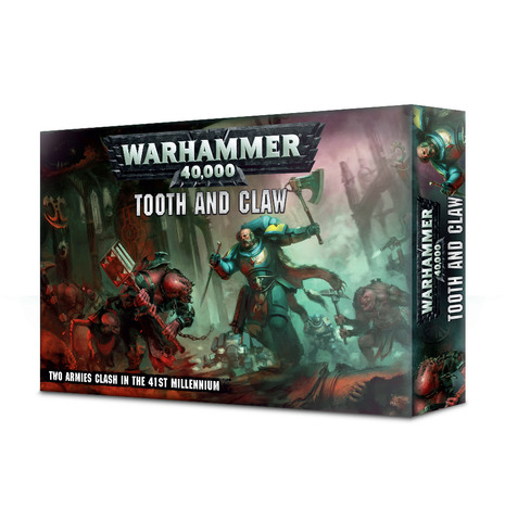 Warhammer 40000: Tooth & Claw (English)