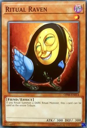Ritual Raven - OP08-EN014 - Common - Unlimited Edition
