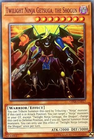 Twilight Ninja Getsuga, the Shogun - OP08-EN017 - Common - Unlimited Edition