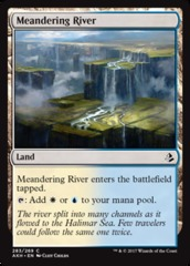 Meandering River (Amonkhet) - Planeswalker Deck Exclusive