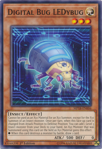 Digital Bug LEDybug - MP18-EN006 - Common - 1st Edition