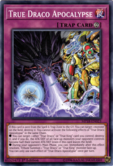 True Draco Apocalypse - MP18-EN023 - Common - 1st Edition