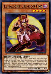 Lunalight Crimson Fox - MP18-EN163 - Common - 1st Edition