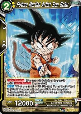 Future Martial Artist Son Goku - TB2-052 - C - Foil
