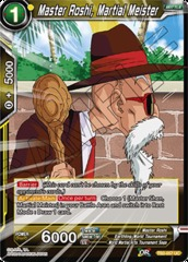Master Roshi, Martial Meister - TB2-057 - UC - Foil