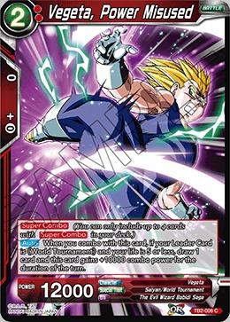 Vegeta, Power Misused - TB2-006 - C - Foil