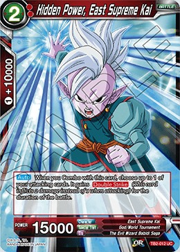 Hidden Power, East Supreme Kai - TB2-012 - UC - Foil