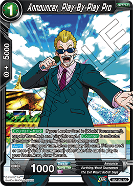 Announcer, Play-By-Play Pro - TB2-067 - UC - Foil