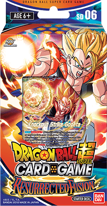 Dragon Ball Super - Starter Deck 6 - RESURRECTED FUSION