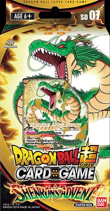 Dragon Ball Super - Series 5 Starter Deck - Shenrons Advent - Deck 7