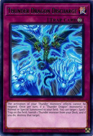 Thunder Dragon Discharge - SOFU-EN073 - Rare - 1st Edition