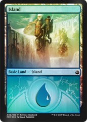 Island - (A03) - Izzet - Ravnica Weekend