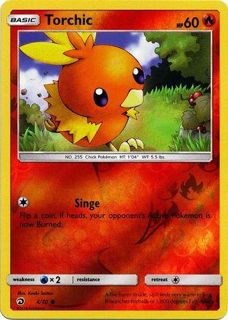 Torchic 470 Common Reverse Holo Pokémon Singles
