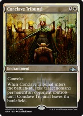 Conclave Tribunal - Foil FNM Promo on Channel Fireball