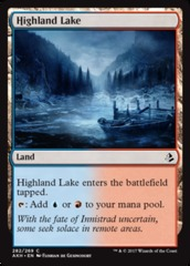 Highland Lake (Amonkhet) - Planeswalker Deck Exclusives