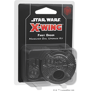 Star Wars X-Wing - Second Edition - First Order Maneuver Dial Upgrade Kit