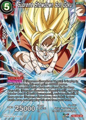 Supreme Showdown Son Goku - TB2-002 - SR