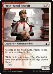 Fresh-Faced Recruit - Foil