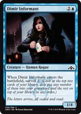 Dimir Informant - Foil