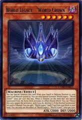 World Legacy - World Crown - CYHO-EN011 - Rare - Unlimited Edition