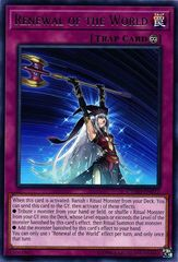 Renewal of the World - CYHO-EN072 - Rare - Unlimited Edition