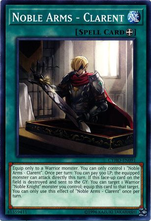 Noble Arms - Clarent - CYHO-EN091 - Common - Unlimited Edition