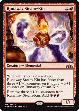 Runaway Steam-Kin - Foil
