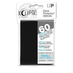 60ct PRO-Matte Eclipse Small Deck Protector sleeves - Black