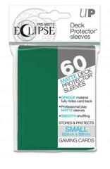 Eclipse Small Deck Protector Sleeves 60ct - Forest Green
